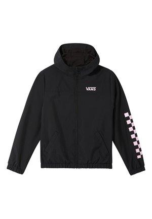 KASTLE CLASSIC WINDBREAKER - Summer jacket - black