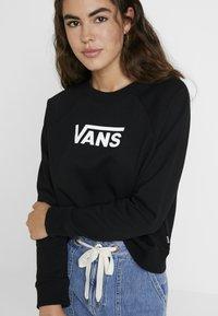Vans - FLYING BOXY CREW - Sweatshirt - black - 4