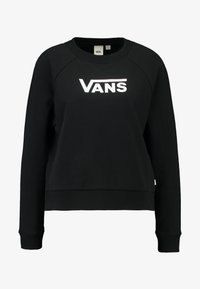 Vans - FLYING BOXY CREW - Sweatshirt - black - 3