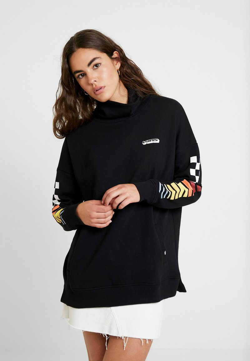Vans - HI PERFORMANCE TURTLE NECK - Sudadera - black