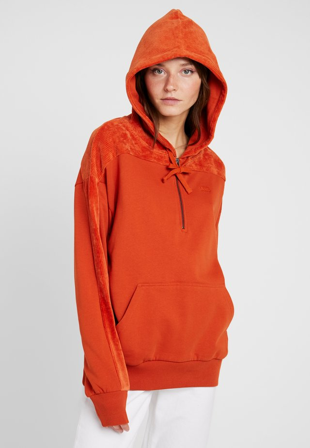 BOPPER HOODIE - Jersey con capucha - potters clay