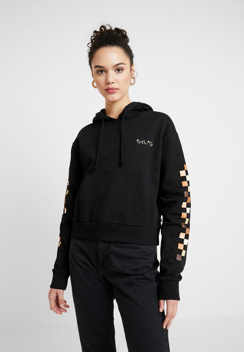 Vans - BCA CROP HOODIE - Jersey con capucha - black