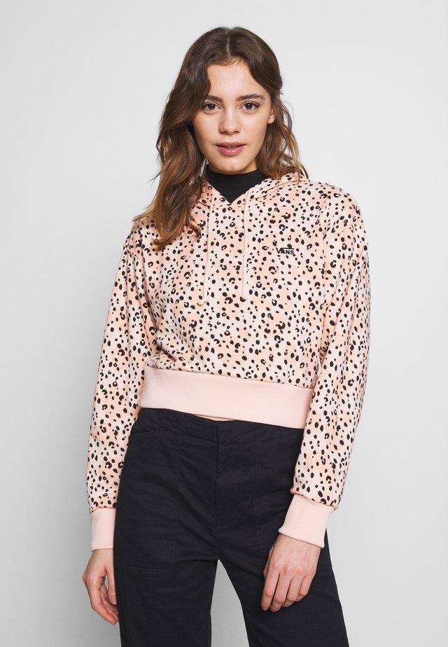 LEILA HOODIE - Felpa con cappuccio - leopard