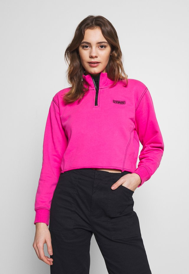 THREAD IT MOCK - Sweatshirt - fuchsia purple