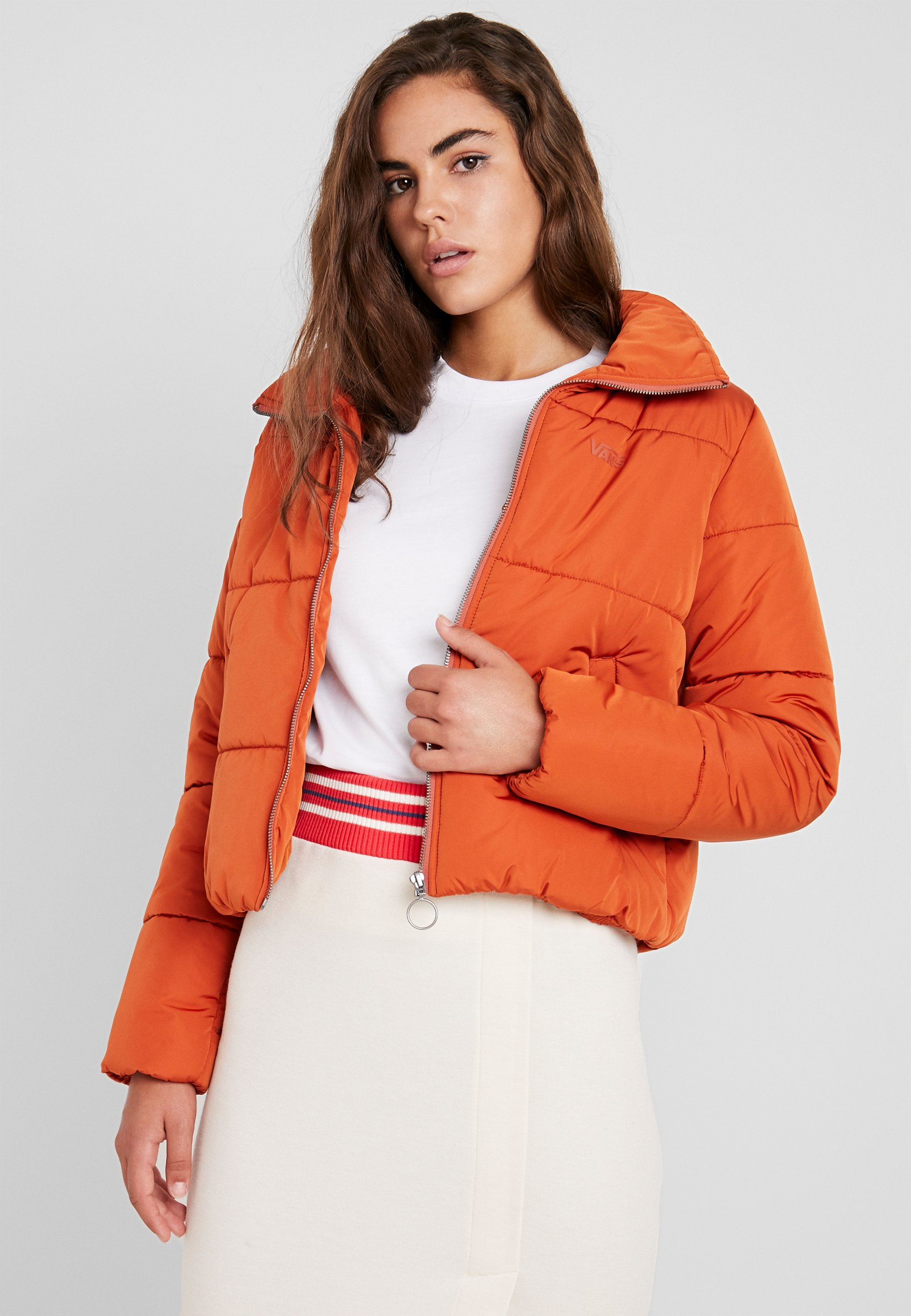 Vans - FOUNDRY PUFFER JACKET - Giacca invernale - potters clay