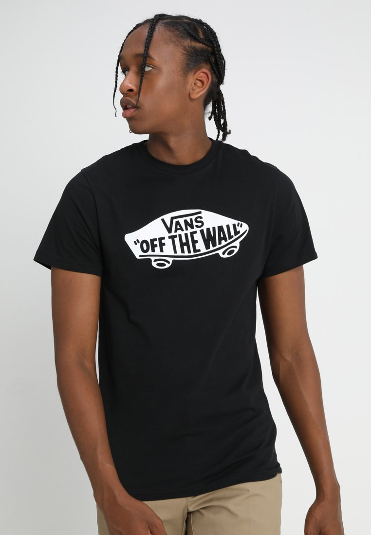 Vans - OTW - T-shirt print - black/white