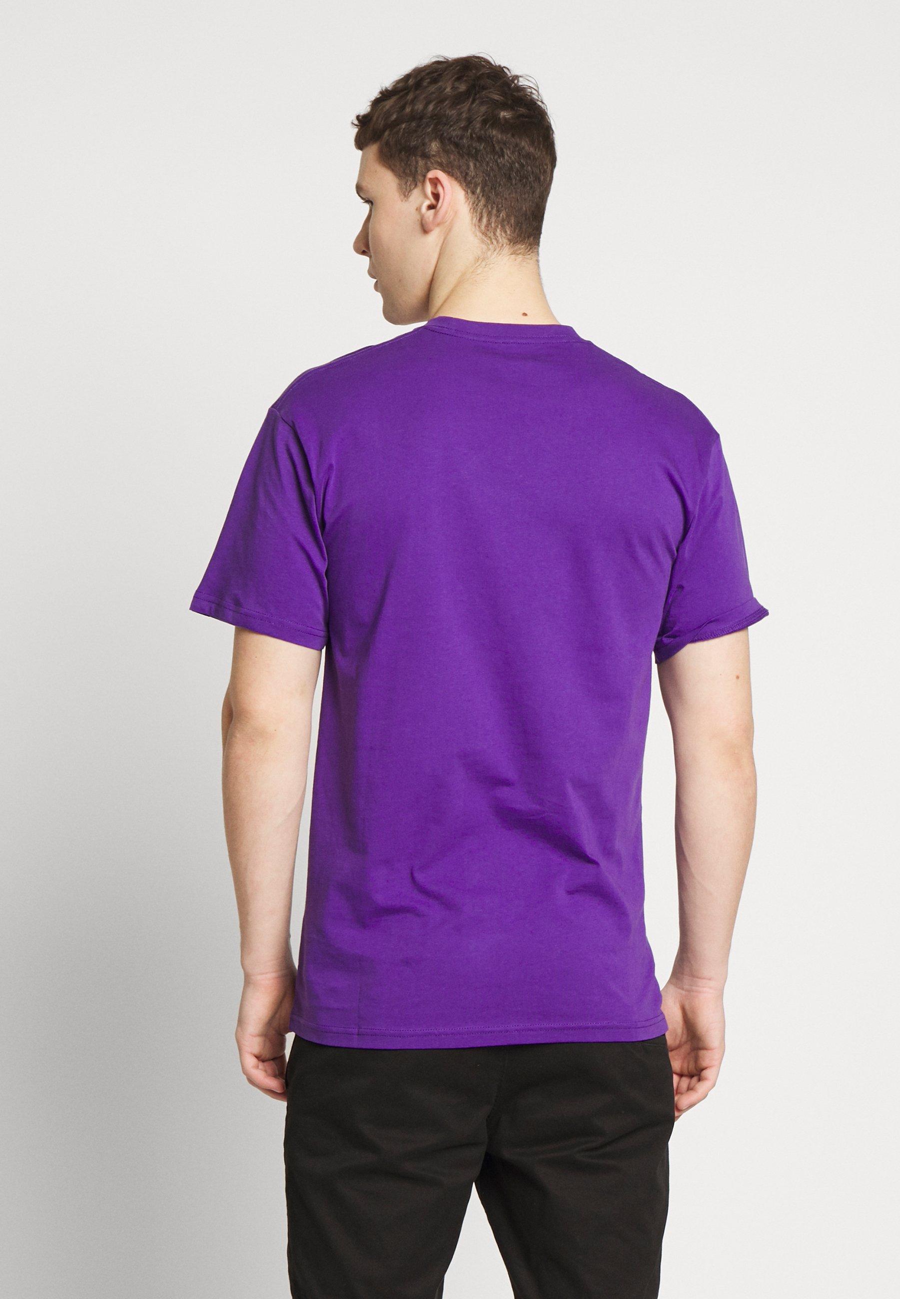 Vans CLASSIC - T-shirt z nadrukiem - heliotrope-white