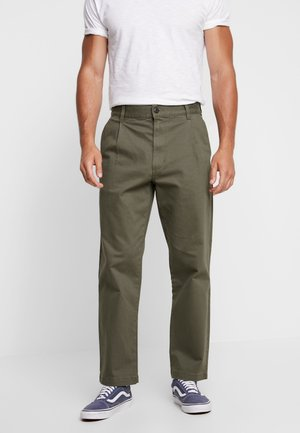 MCCAHON PANT - Chino - grape leaf