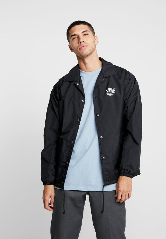 TORREY - Summer jacket - black/white