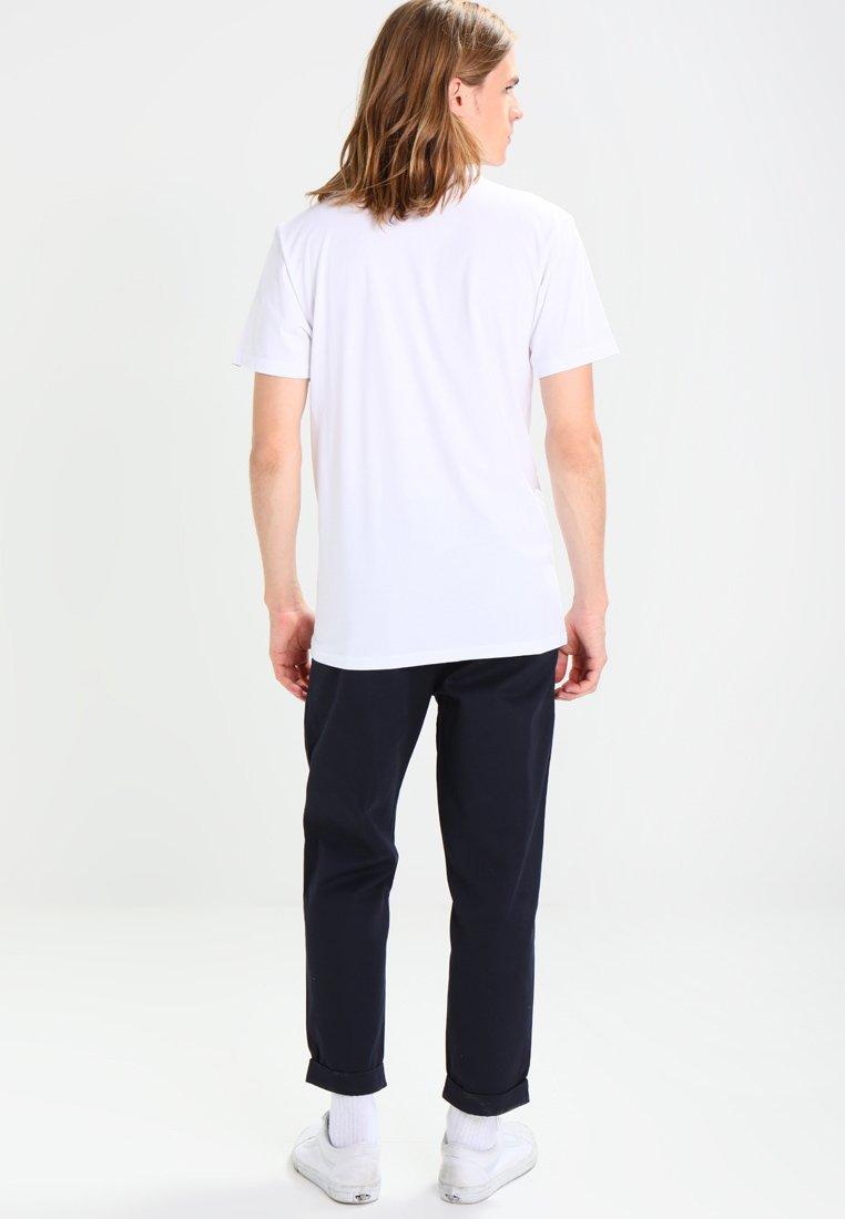 Vans Basique White Left TeeT Logo Chest shirt v8wy0nmNO