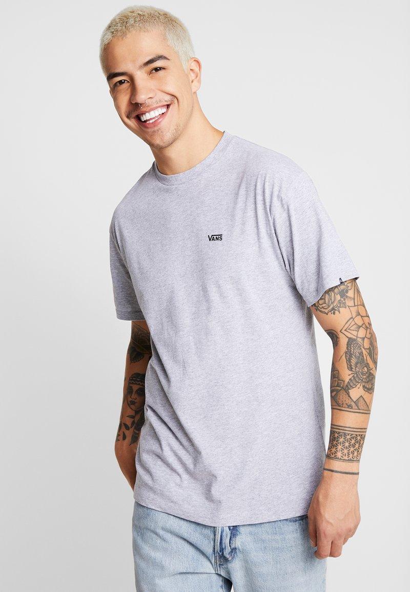 Vans - LEFT CHEST LOGO TEE - Basic T-shirt - athletic heather