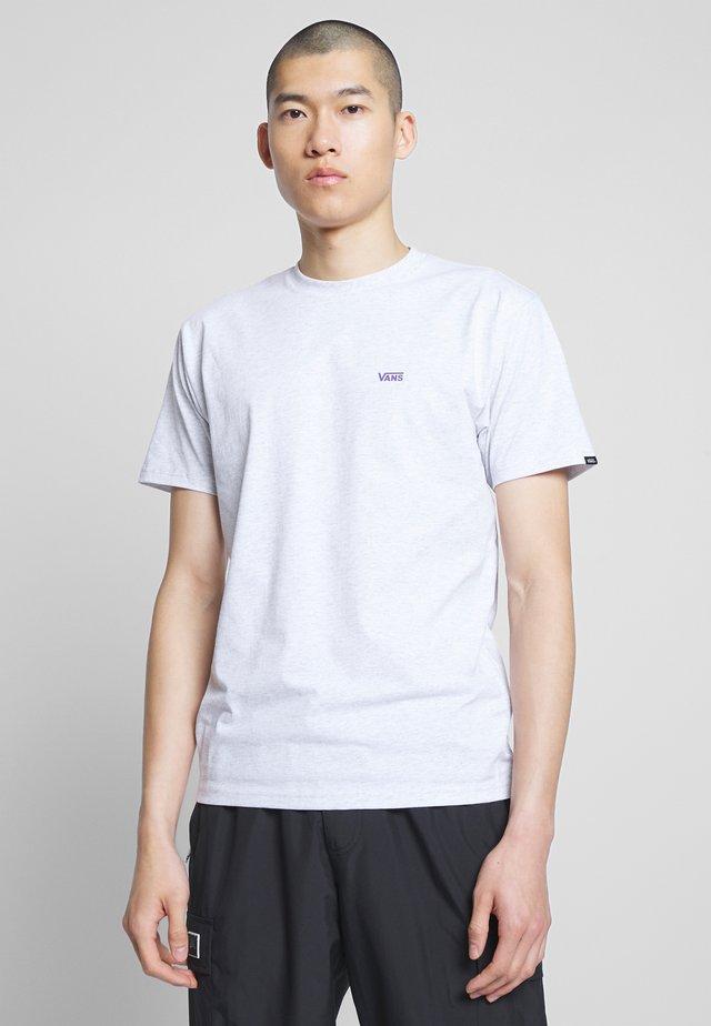 T-shirt - bas - ash heather/heliotrope