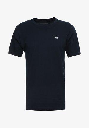 LEFT CHEST LOGO TEE - T-shirt - bas - navy/white