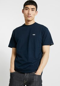 Vans - Basic T-shirt - navy/white - 0
