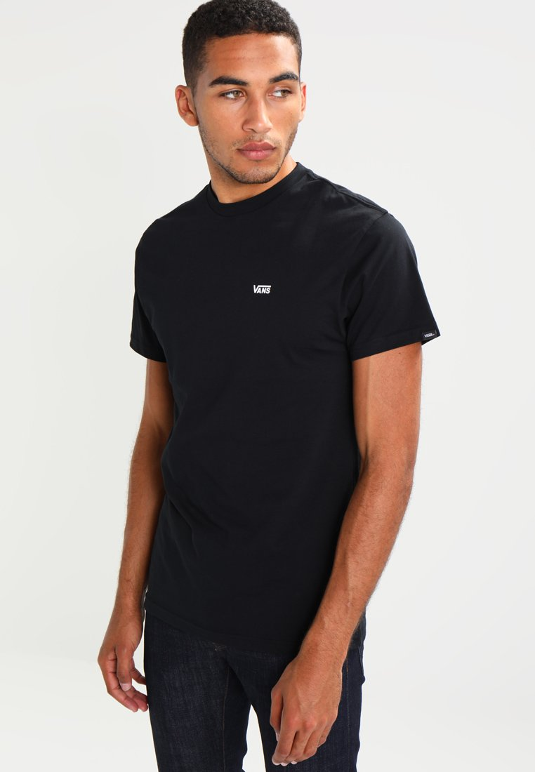 Vans - LEFT CHEST LOGO TEE - Basic T-shirt - black