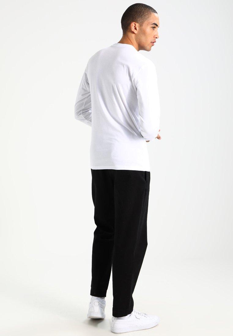 Vans CLASSIC FIT - Bluzka z długim rękawem - white/black