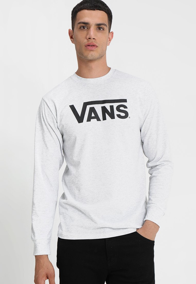 Vans - CLASSIC FIT - Langarmshirt - ash heather/black