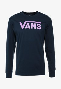 Vans - CLASSIC FIT - Langarmshirt - navy/dewberry - 3