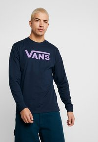 Vans - CLASSIC FIT - Langarmshirt - navy/dewberry - 0