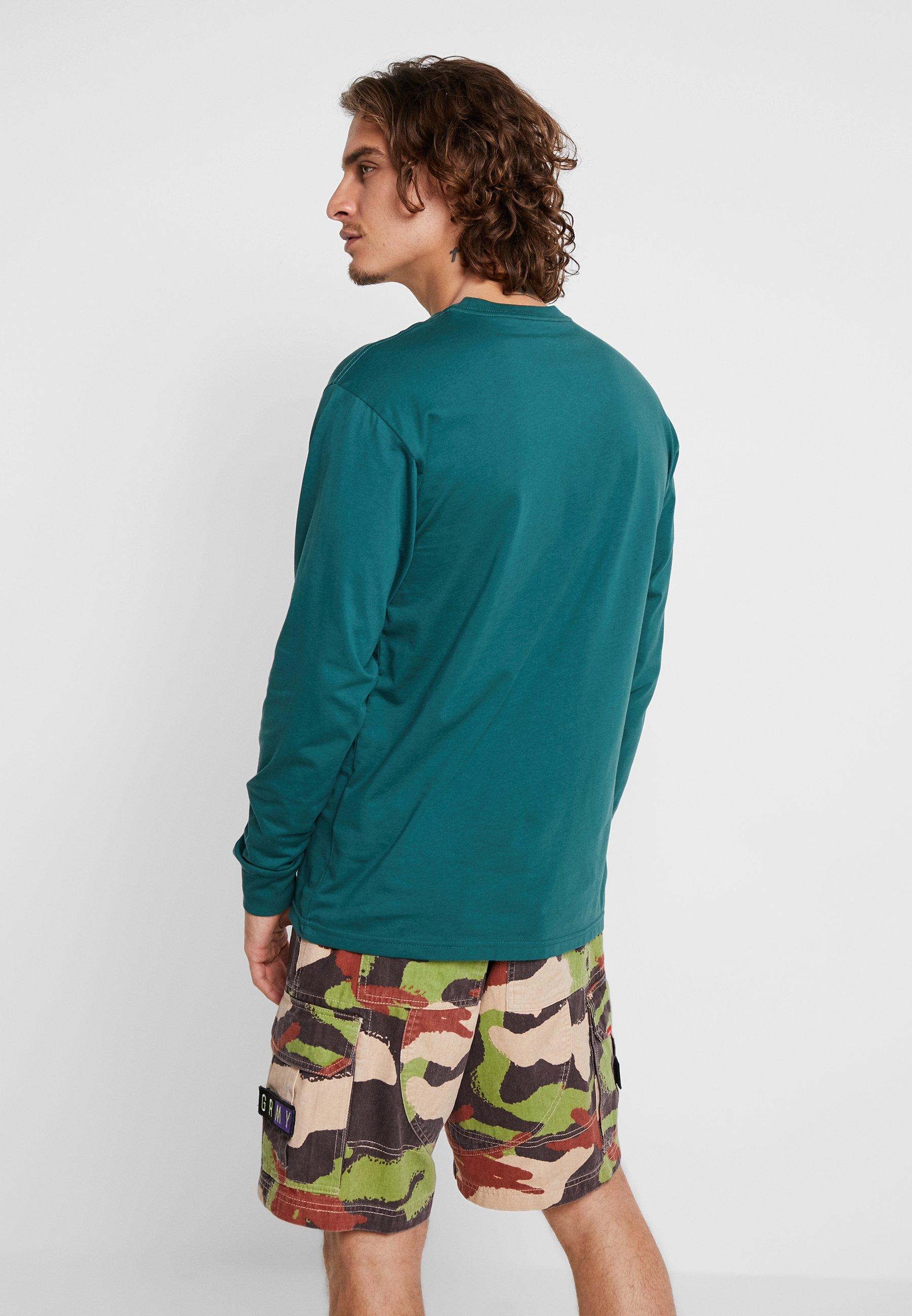 Green shirt Longues FitT À Vans Classic Trekking Manches white JlFKT1c