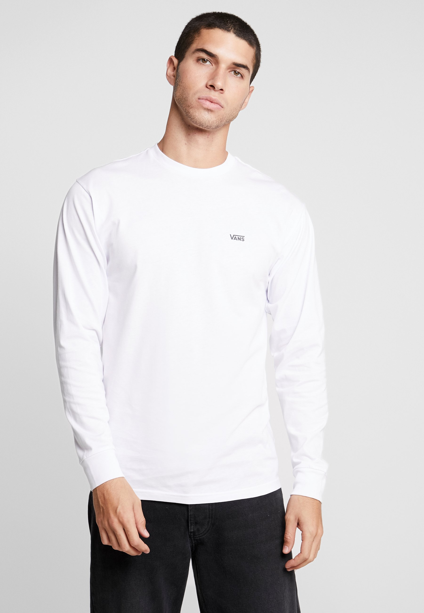 LEFT CHEST HIT Langarmshirt white