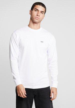 LEFT CHEST HIT - Långärmad tröja - white