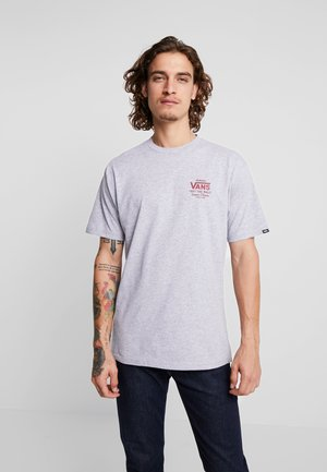 HOLDER CLASSIC - T-shirt med print - athletic heather/biking red