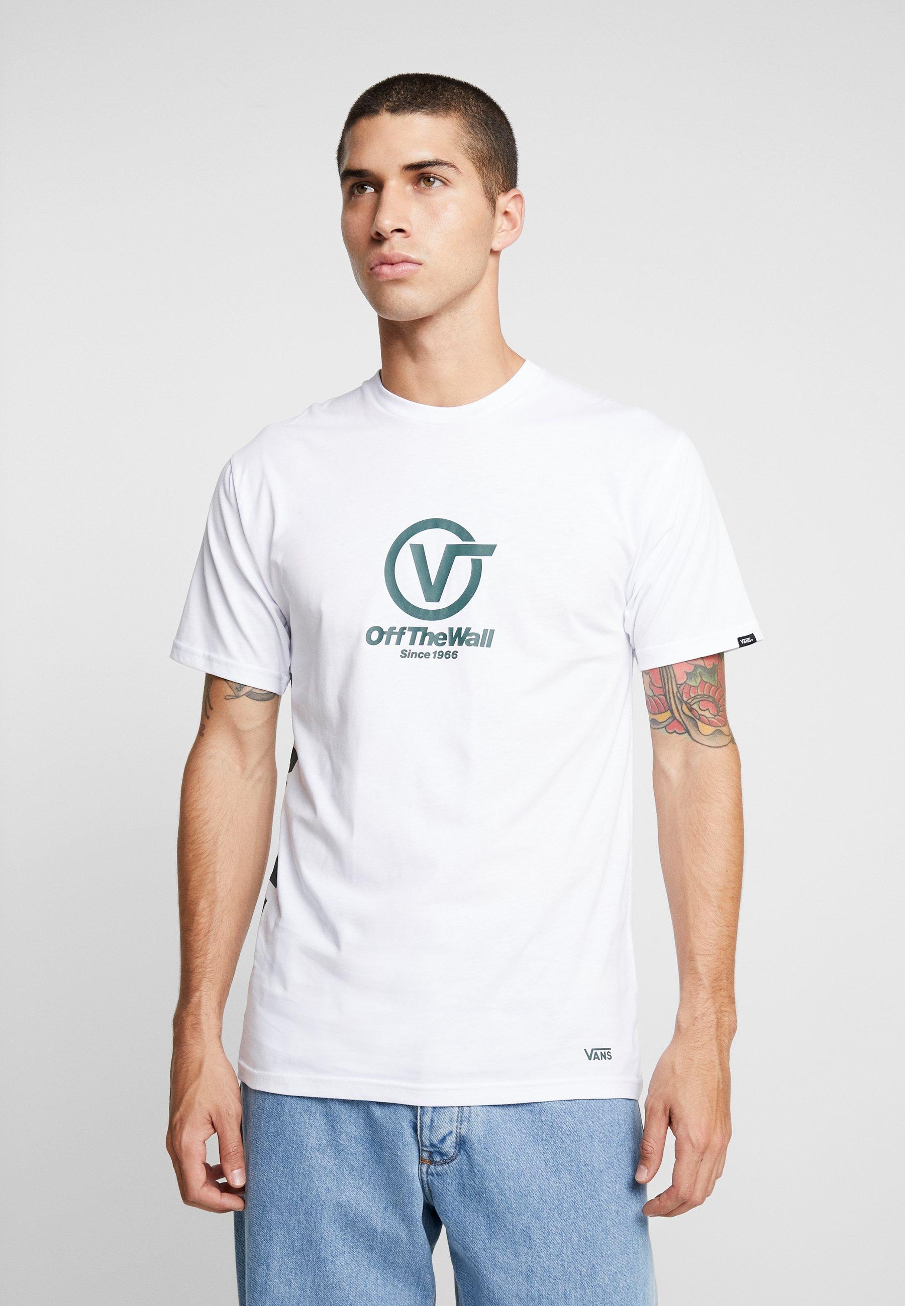 Vans PerformanceT shirt Distort White Imprimé WHID29EY