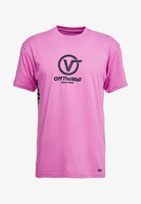Vans - DISTORT PERFORMANCE  - T-shirt med print - rosebud - 3