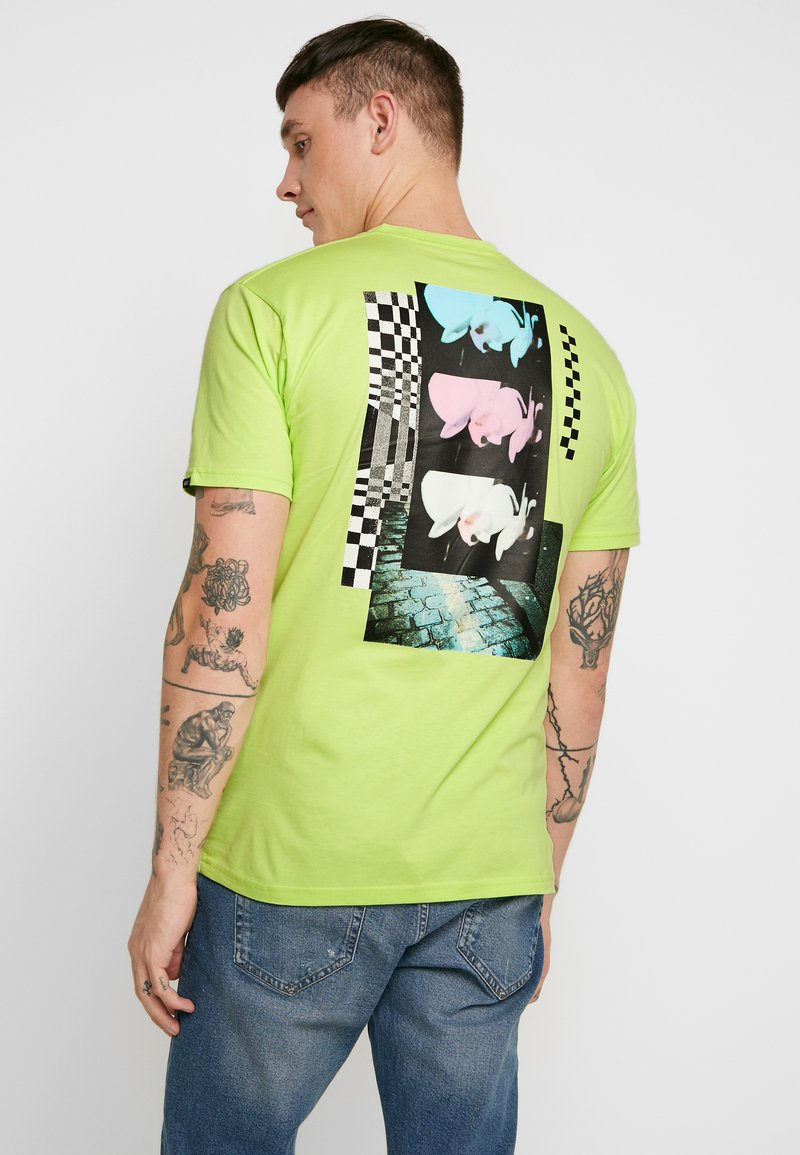 Vans - RAINBOW ORCHID - T-Shirt print - sharp green
