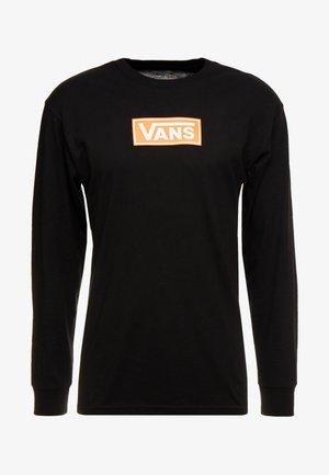 STRIPE  - Long sleeved top - black