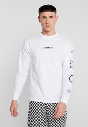 RACING REPEAT - Langarmshirt - white