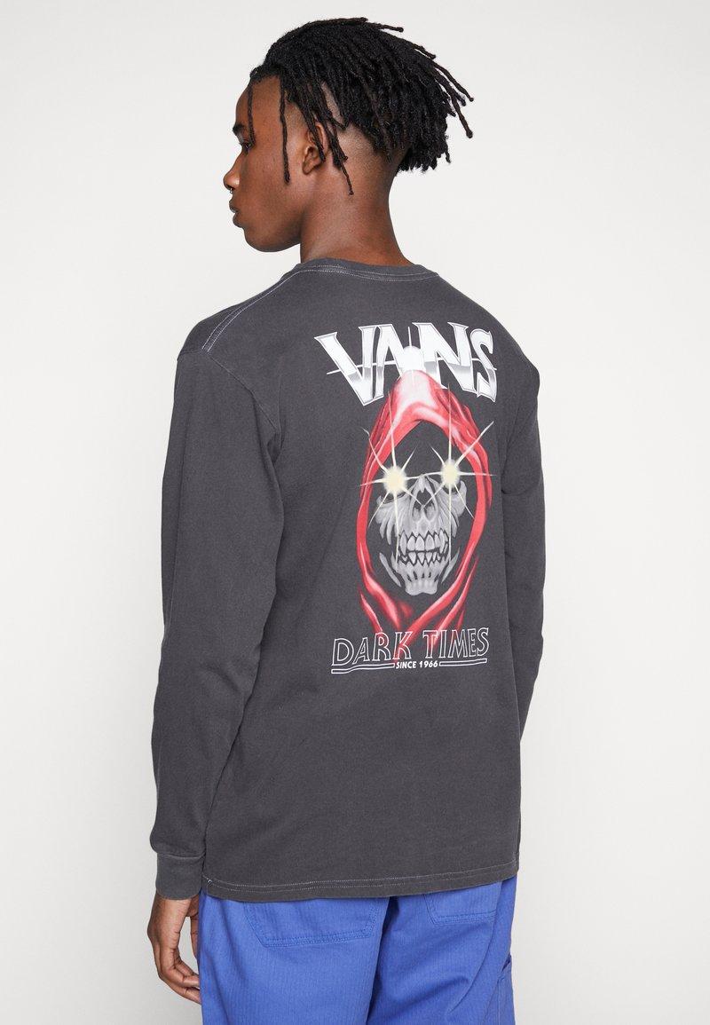 Vans - VINTAGE DARK TIMES  - Long sleeved top - black