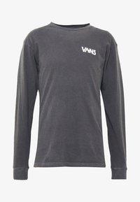 Vans - VINTAGE DARK TIMES  - Long sleeved top - black - 4