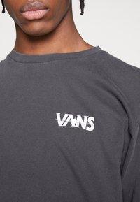 Vans - VINTAGE DARK TIMES  - Long sleeved top - black - 5