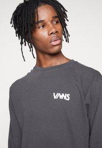 Vans - VINTAGE DARK TIMES  - Long sleeved top - black - 3