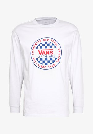 CHECKER  - Camiseta de manga larga - white