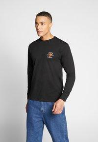 Vans - GROWLER - Maglietta a manica lunga - black - 2