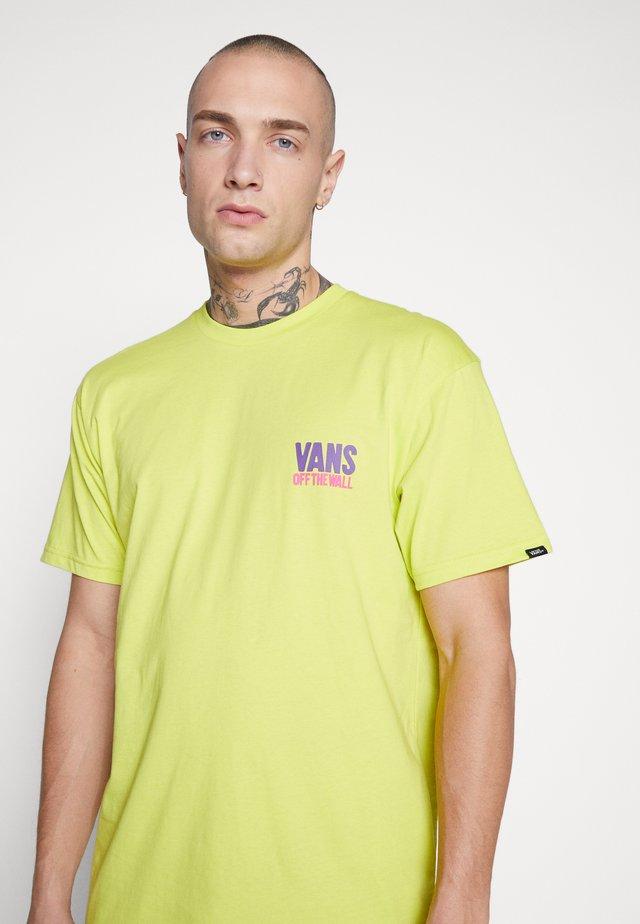 EYES OPEN - T-shirt con stampa - sulphur spring