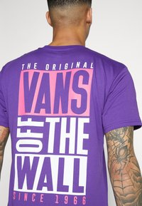 Vans - NEW STAX  - T-shirt con stampa - heliotrope - 3