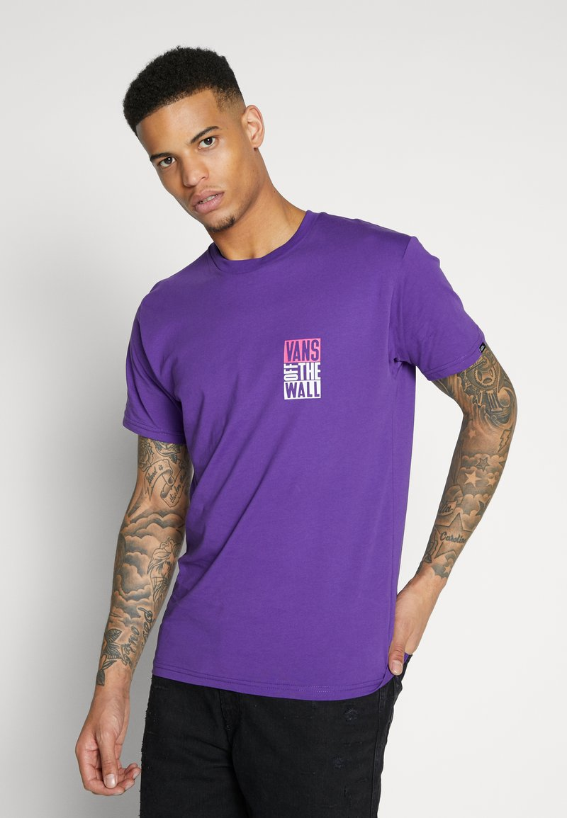 Vans - NEW STAX  - T-shirt con stampa - heliotrope