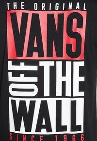 Vans - NEW STAX  - T-shirt con stampa - black - 5