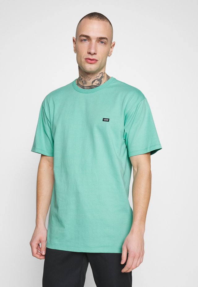 OFF THE WALL CLASSIC - Camiseta básica - dusty jade green