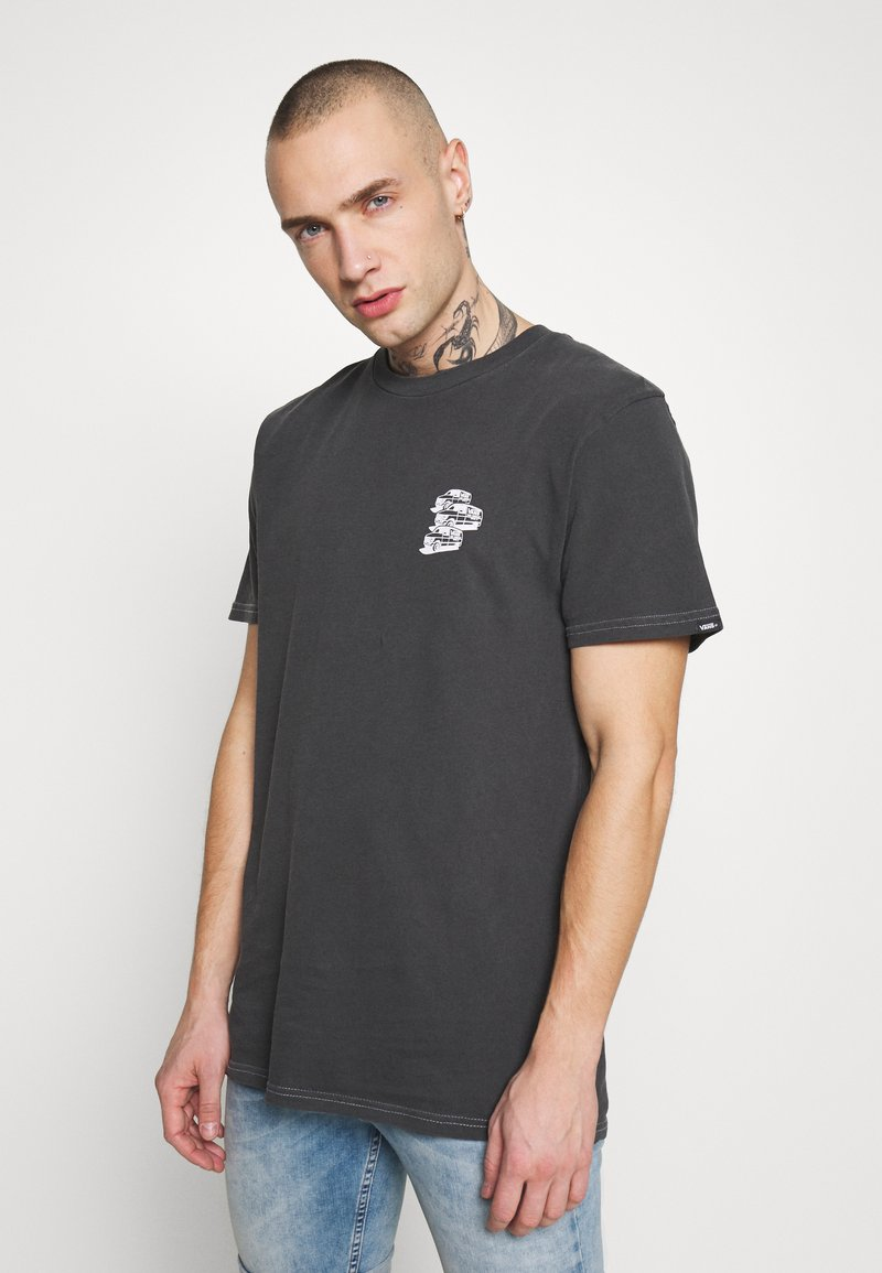 Vans - VINTAGE - T-shirt con stampa - black