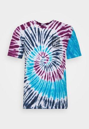 BLOCKED IN TIE DYE - T-shirt con stampa - multicolor