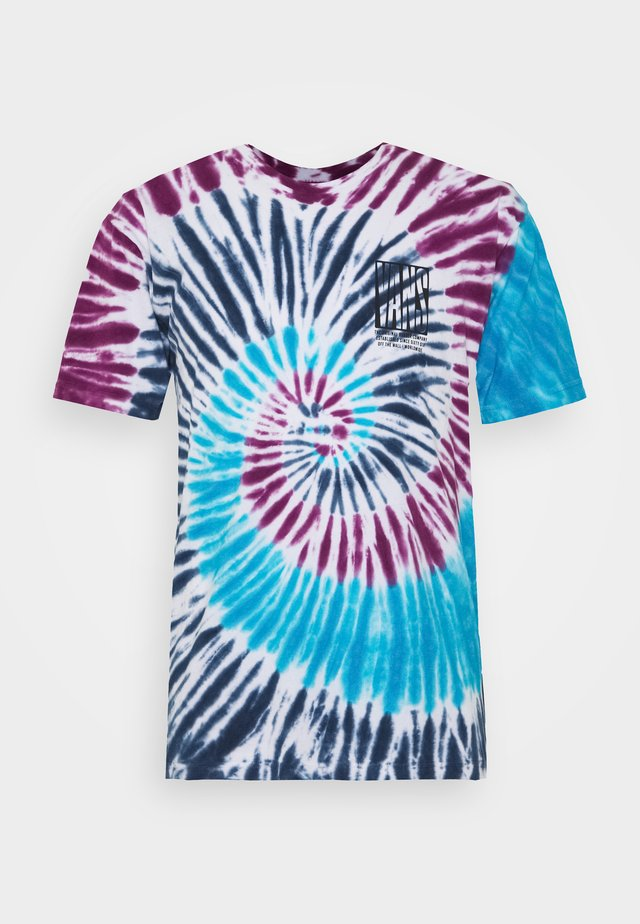 BLOCKED IN TIE DYE - T-shirts print - multicolor