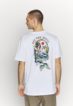 MERMAID  - T-shirt con stampa - white