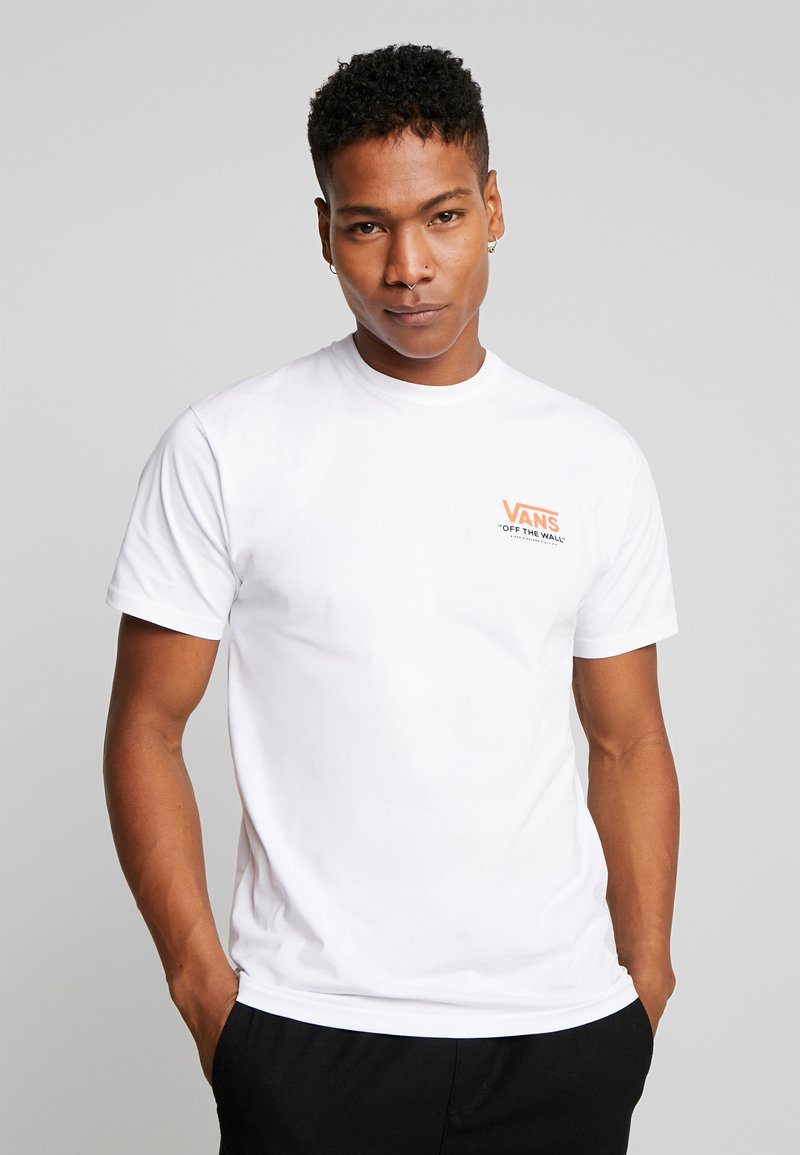 Vans - THROUGH THE WALL - T-shirt con stampa - white