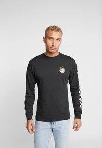Vans - BURNING ROSE - Bluzka z długim rękawem - black - 2