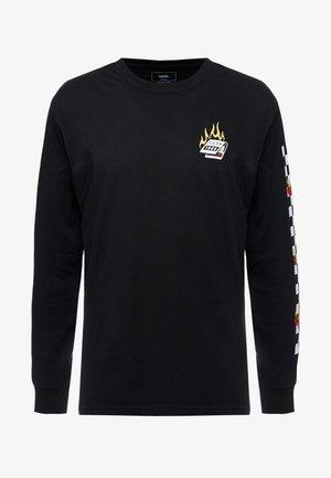 BURNING ROSE - Långärmad tröja - black